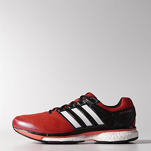 Adidas Supernova Glide Boost 6 - Zapatillas de Running para Hombre, Color dkoran/runwhi/infrot, Talla 44