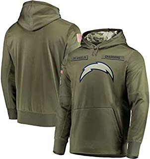Los Angeles Chargers Salute to Service Hoodie Camo for Men Women Youth