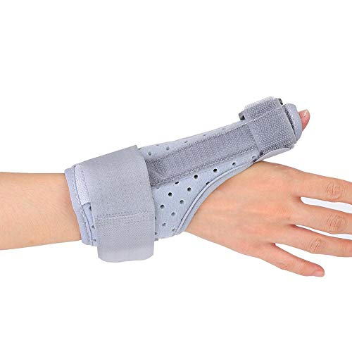 Thumb & Wrist Stabilizer Splint for BlackBerry Thumb, Thumb Wrist Brace for Trigger Finger, Pain Relief, Arthritis, Tendonitis, Sprained and Carpal Tunnel Supporting, Lightweight and Breathable