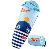 skandika Sorgenfresser - Saco Dormir para niños - 170 cm - -12°C (Ping)