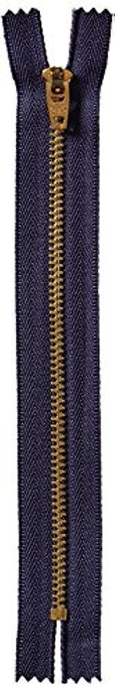 COATS&CLARK F2706-013 Brass Jean Metal Zipper, 6