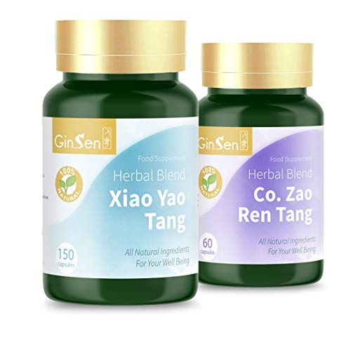 Chronic Sleeping Kit Helps with Poor Sleeping Conditions, Easily Disturbed Sleeping, Change of Weather Sleep, Low Energy, Natural Herbal Supplement, Chinese Medicine, Made in UK