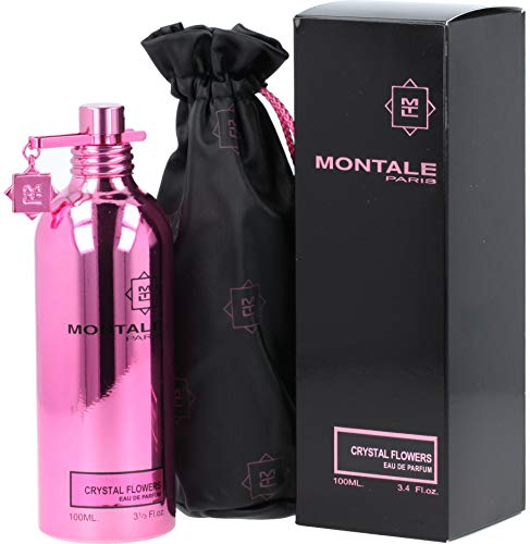 100% Authentic MONTALE CRYSTAL FLOWERS Eau de Perfume 100ml Made in France