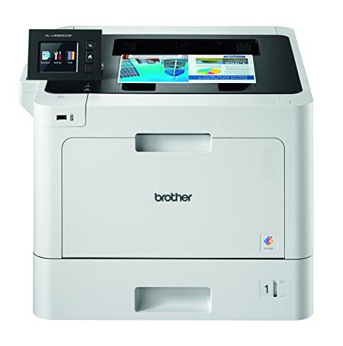 Brother HLL8360CDW - Impresora láser (color, WiFi, doble cara, pantalla de 6,8 cm, memoria de 512 MB) ()