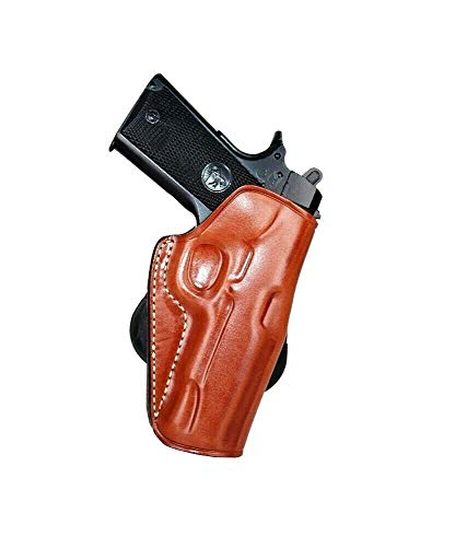 MASC Premium Leather OWB Paddle Holster Open Top Fits Kimber...