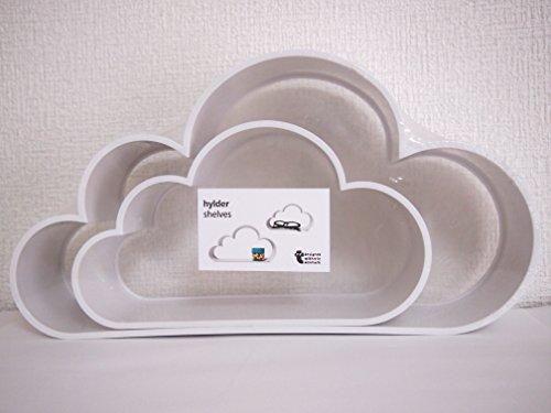 フライングタイガー 雲シェルフ ホワイト