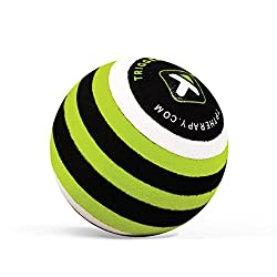 Trigger point ball to help relieve buttock pain and bum muscle pain through trigger point release