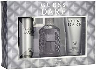 GUESS Dare Eau De Toilette Set For Men, 3 x 100 ml