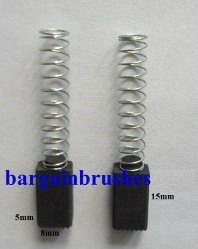 2x schleifkohle Brosse à Charbon 5x8x15mm Pour Bosch UBH 2-20 SERL 121270.3 121274.1