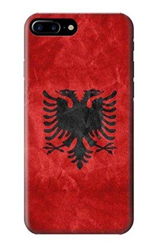 Albania Football Soccer Red Flag Case Cover Custodia per iPhone 7 Plus