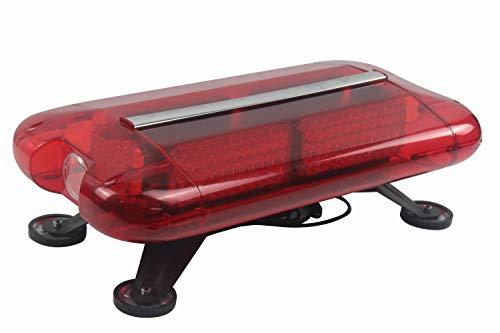 Zonch 15 W 57 cm Strobe Feux d'avertissement de toit lampe étanche LED Rouge Barre de lumière d'urgence