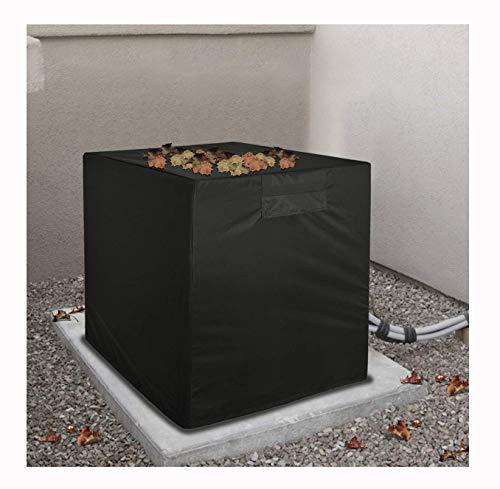 Outdoor Grote Airco Bescherming Cover, Condenser Compressor Airconditioning Bescherming Cover Zwart Zonnebrandcrème Waterdichte Air Cooler Voorruit Centrale Airconditioning Ventilatie Ventilator Cover