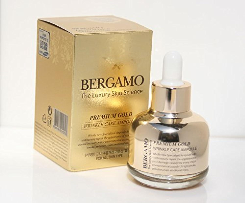 【ベルガモ][Bergamo] 皮膚科学プレミアムゴールドリンクルケアアンプル30ml / The Skin Science Premium Gold Wrinkle Care Ampoule 30ml / 韓国化粧品 / Korean Cosmetics [並行輸入品]