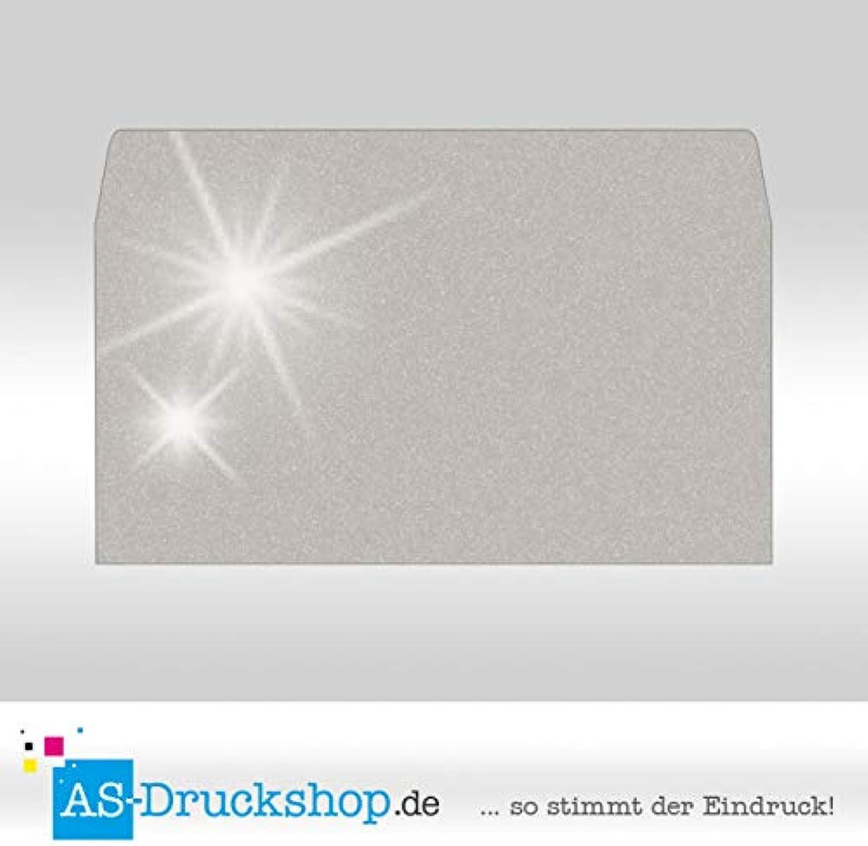 Briefumschlag KuGrün - Silber Silber Silber - mit Perlmutt-Glanz Din Lang   50 Stück B0794ZT584 | Outlet  4ec8af
