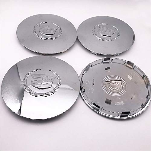 4PCS Set Car ABS Chrome Hub Rim Custom Wheel Center Cap Hubcap Cover 7.875