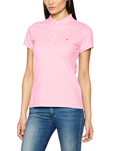 GANT Damen The Original Pique Poloshirt, Rot (California Pink 637), Small (Herstellergröße: S)