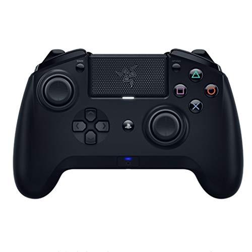 Contrôleur de jeu Manette de Jeu contrôleur d'ordinateur sans Fil somatosensoriel Multi-Plateforme Accessoires de Jeu d'intérieur multijoueur (Color : Black-A, Size : 15.6 * 10.2 * 6cm)