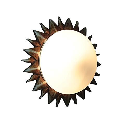 NHP Lámparas industriales Retro, candelabro, Pasillo del Dormitorio, Porche, cafetería, Tienda de Ropa, lámpara de Techo Simple