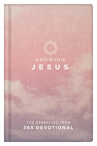 Price comparison product image Knowing Jesus The Essential Teen 365 Devotional Girls