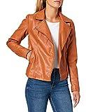 Only Onlmelisa Faux Leather Biker CC Otw Chaqueta de Cuero sinttico,...