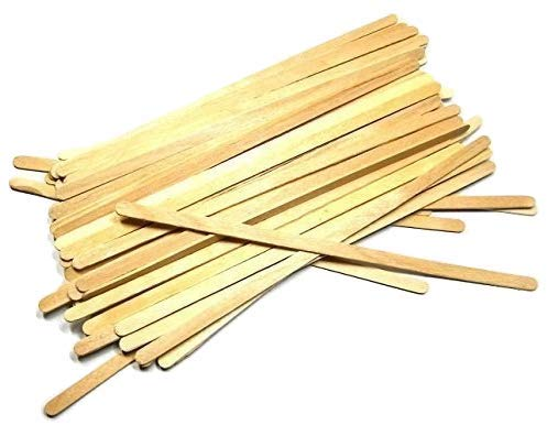50 7' Inch Wood Paint, Stain, Resin, Epoxy Mixing/Stir Sticks (Pack of 50)