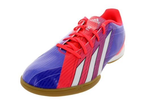 adidas F10 Indoor Soccer Shoe (9) Red
