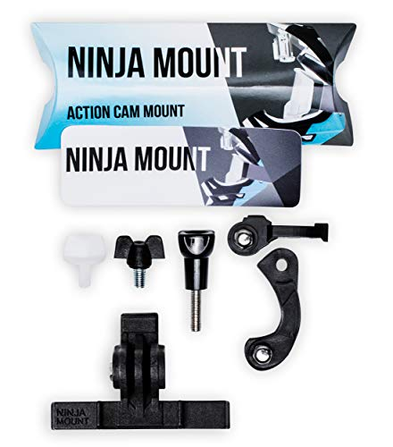 NINJA MOUNT Kit ProAdapter - Compatible avec Fox® Proframe & GoPro® pour Downhill et Enduro.