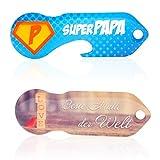 Einkaufswagenlöser Code24 Mama + Papa SET, Schlüsselanhänger mit Einkaufschip & Schlüsselfinder, inkl. Registriercode für Schlüsselfundservice, Einkaufswagenchip mit Profiltiefenmesser, Key Finder