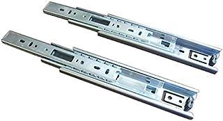 スガツネ工業 完全スライド 3段引スライドレール 横付け 4518型 4518-550 左右1組
