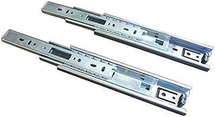 スガツネ工業 完全スライド 3段引スライドレール 横付け 4518型 4518-600 左右1組