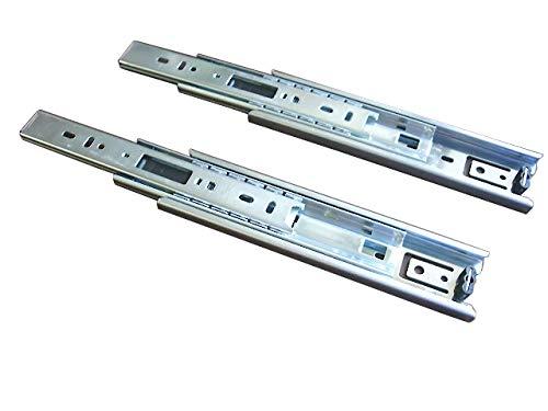 スガツネ工業 完全スライド 3段引スライドレール 横付け 4518型 4518-700 左右1組の写真
