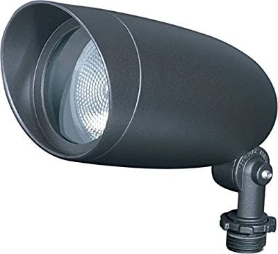 NUVO SF76/646 Outdoor PAR20 Landscape Flood Spotlight, Die Cast Aluminum, 50 Watts/120 Volts, Dark Bronze