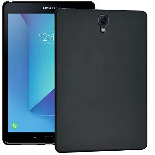 Verco Hülle für Samsung Galaxy Tab S3 9.7, Schutzhülle Tablet Tasche Silikon Cover [T820 / T825], Schwarz