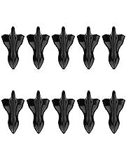 parachoques trasero universal para automóvil 10 piezas Difusor de aleta de tiburón Generador de vórtice Universal Car Shark Fin Difusor Generador de vórtice Alerón de techo Alerón de techo de coche
