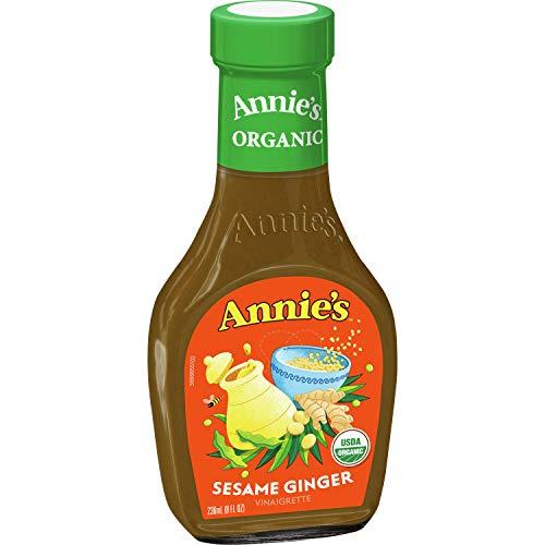 Annie's Sesame Ginger Vinaigrette Dressing Certified Organic, Non-GMO, 8 fl oz