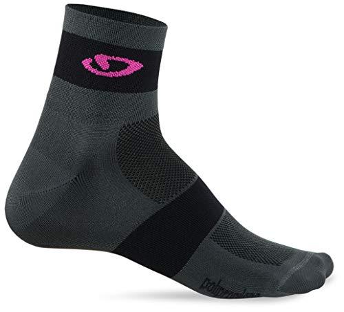 Giro COMP RACER - Calcetines de ciclismo (talla M), color rosa