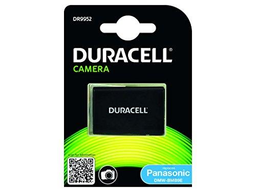Duracell DR9952 - Batería para cámara Digital 7.4 V, 850 mAh (reemplaza batería Original de Panasonic DMW-BMB9E)