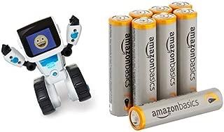 WowWee COJI The Coding Robot Toy with Amazon Basics AAA Batteries Bundle