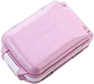 Caja de almacenamiento portátil de la caja de la píldora/bolsa de protección sellado de tres capas respetuoso del medio ambiente no tóxico billetera impermeable y bolsillo que contiene vitamina droga