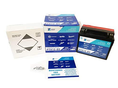 Batería PTX12-BS Original Piaggio sellada YTX12-BS