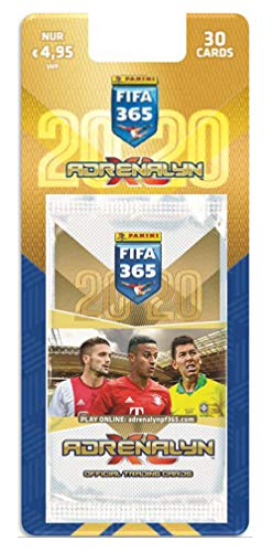 Panini 704958 Adrenalyn XL Sammelkarten FIFA 365, Saison 2019/2020, 5 Limitierte, 6 Karten je Booster, bunt