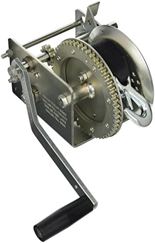 Fulton 142415 Dual Speed Winch with 20' Strap - 2600 lbs. Capacity, 1 Pack