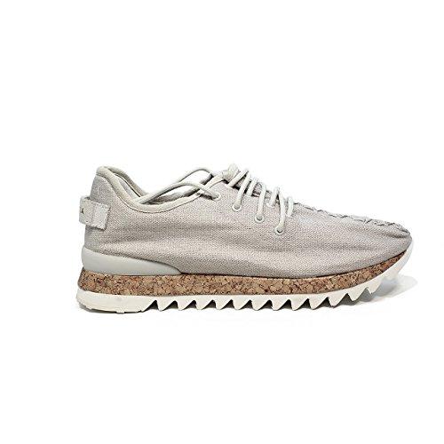 Apepazza DLY22 Sneaker farbener Off-White-Gewebe (40)