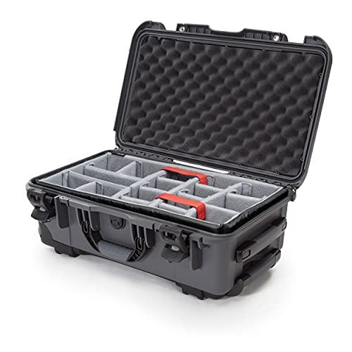 plasitcase Inc. Nanuk Case con Compartimentos