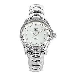 TAG Heuer Women's WJF1319.BA0572 Link Diamond Accented Watch