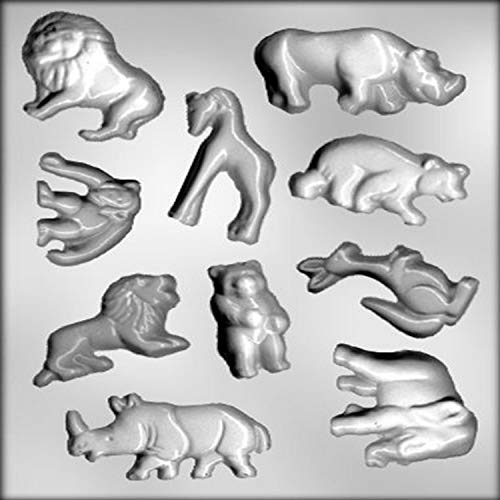 CK Products Large Zoo Animal Assortment Chocolate Mold