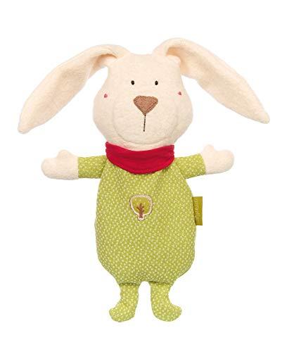sigikid, Mädchen und Jungen, Wärmekissen Hase, Green Collection, Mehrfarbig, 41796