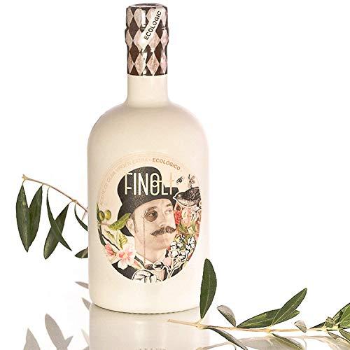 Aceite de Oliva Virgen Extra Premium Ecológico FINOLI de Cosecha Temprana - Botella de 500 ml