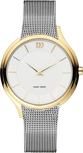 Danish Design dames analoog kwarts horloge met roestvrij stalen armband IV65Q1194