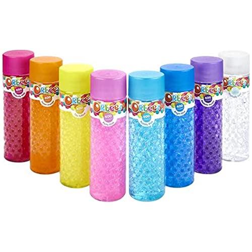 400 Orbeez Wasserperlen - farblich sortiert